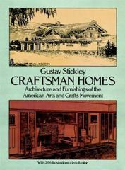 Craftsman Homes 2nd edition 9780486237916 0486237915