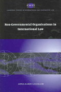 Non-Governmental Organisations in International Law 0 9780521850889 0521850886