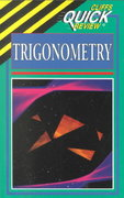 CliffsQuickReview Trigonometry 1st edition 9780822053583 0822053586