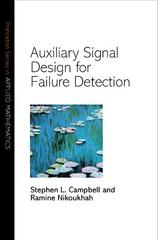 Auxiliary Signal Design for Failure Detection 1st Edition 9781400880041 1400880041