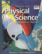 High School Physical Science: Concepts in Action Se 1st Edition 9780133628173 0133628175