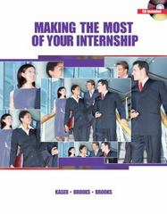 Making the Most of Your Internship (with CD-ROM) 1st Edition 9780538444323 0538444320