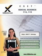 CSET Social Science 114, 115 1st Edition 9781581973402 1581973403