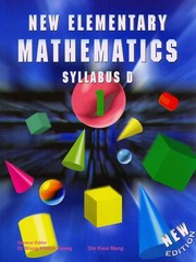 New Elementary Mathematics Syllabus D (New Elementary Mathematics, 1) 1st Edition 9789812714114 9812714111