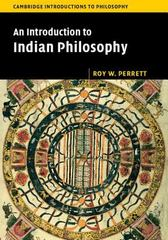 An Introduction to Indian Philosophy 1st Edition 9780521618694 052161869X