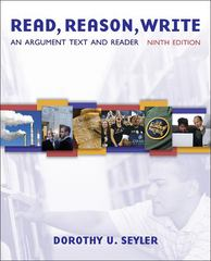 Read, Reason, Write 9th edition 9780073383781 0073383783
