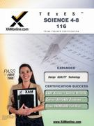 TExES Science 4-8 116 1st Edition 9781581972979 1581972970
