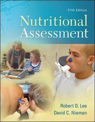 Nutritional Assessment 5th Edition 9780073375564 007337556X