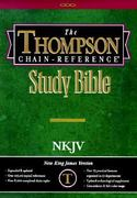 Thompson Chain-Reference Study Bible: New King James Version, Old and New Testaments 0 9780887073144 088707314X