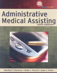 Bundle: Administrative Medical Assisting + Workbook 6th edition 9781428373891 1428373896