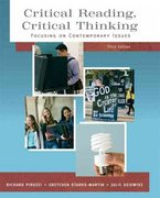 Critical Reading Critical Thinking: Focusing on Contemporary Issues (with MyReadingLab Student Access Code Card) 3rd edition 9780205727933 020572793X