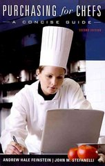 Purchasing for Chefs 2nd Edition 9780470292167 0470292164