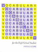 Vocabulary for the High School Student 4th edition 9781567650051 1567650058