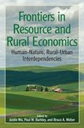 Frontiers in Resource and Rural Economics 0 9781933115641 1933115645