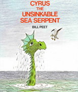 Cyrus the Unsinkable Sea Serpent 1st edition 9780395313893 0395313899