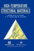 High-Temperature Structural Materials 1st edition 9780412750106 0412750104