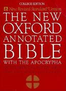 The New Oxford Annotated Bible with the Apocrypha, New Revised Standard Version 0 9780195284119 0195284119