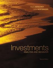 Investments with S&amp.P bind-in card 2nd edition 9780077305574 0077305574