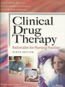 Clinical Drug Therapy 9th edition 9781605477794 1605477796