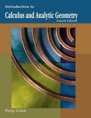 Introduction to Calculus and Analytic Geometry 4th Edition 9781602299818 1602299811