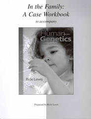 Case Workbook for Human Genetics 9th edition 9780077313043 0077313046