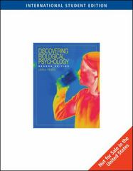 Discovering Biological Psychology 2nd edition 9780324829617 0324829612