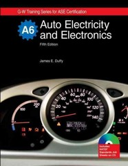 Auto Electricity and Electronics, A6 5th edition 9781590709122 1590709128