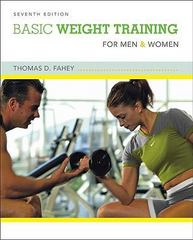 Basic Weight Training for Men and Women 7th edition 9780073376585 0073376582