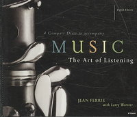 4-CD Set for use with Music: The Art of Listening 8th Edition 9780077286385 0077286383