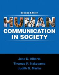 Human Communication in Society 2nd edition 9780205650804 0205650805