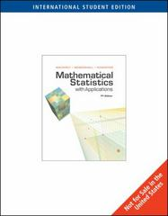 Mathematical Statistics with Applications 7th edition 9780495385080 0495385085