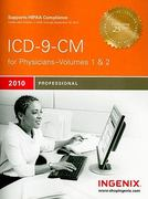 ICD-9-CM Professional for Physicians 2010 , Volumes 1 And 2 6th Edition 9781601512598 1601512597
