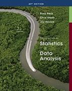Intro to Statistics & Data Analysis AP Edition 3rd edition 9781439047491 1439047499