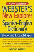 Webster's New Explorer Spanish-English Dictionary 0 9781596950535 1596950536