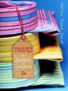 Statistics for Business & Economics Value Pack (includes Student's Solutions Manual & Microsoft Excel Manual) 10th edition 9780132427326 013242732X