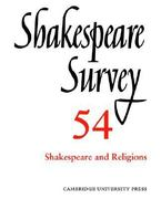 Shakespeare and Religions 0 9780521023986 052102398X