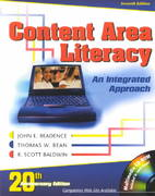 Content Area Literacy 7th edition 9780787276485 0787276480