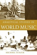 Analytical Studies in World Music 1st Edition 9780195177893 0195177894