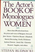 The Actor's Book of Monologues for Women 0 9780140157871 0140157875