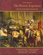 The Western Experience, Volume B, with Primary Source Investigator 9th edition 9780073331690 0073331694