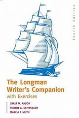 Longman Writer's Companion with Exercises  Value Package (includes What Every Student Should Know About Practicing Peer Review) 1st edition 9780205586059 0205586058