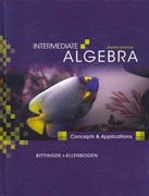 Intermediate Algebra: Concepts and Applications Plus MyMathLab Student Access Kit 8th edition 9780321609687 0321609689