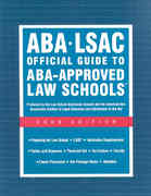 Aba-Lsac Official Guide to Aba-Approved Law Schools 2009 0 9780979305023 0979305020