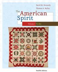 The American Spirit 12th edition 9780495800019 0495800015