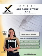 FTCE Art Sample Test K-12 1st Edition 9781581979008 1581979002