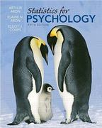 Statistics for Psychology Value Package (includes Study Guide and Computer Workbook for Statistics for Psychology) 5th edition 9780205630073 0205630073