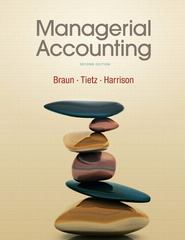 Managerial Accounting 2nd edition 9780136091165 0136091164