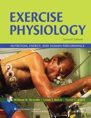 Exercise Physiology 7th Edition 9780781797818 0781797810