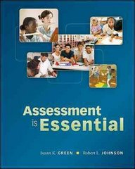 Assessment is Essential 1st Edition 9780073378725 0073378720