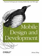 Mobile Design and Development 1st Edition 9780596155445 0596155441